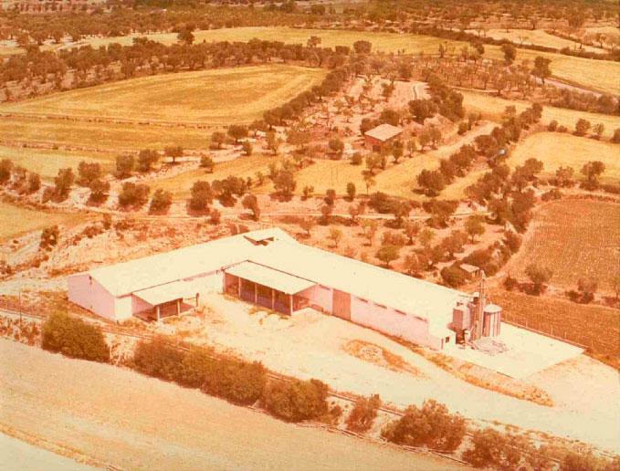 Instalaciones de la Cooperativa en la década de los 70.